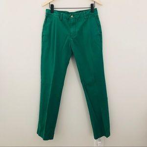 Vineyard Vines Shamrock Green Slim Fit Pants